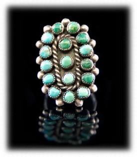 Vintage Native American Indian Rings