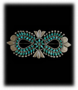 Vintage Turquoise Silver Jewelry