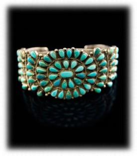 Zuni Vintage Turquoise Bracelet