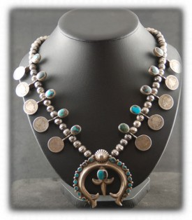 Vintage Bisbee Turquoise Necklace