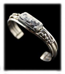 White Buffalo Turquoise Bracelets
