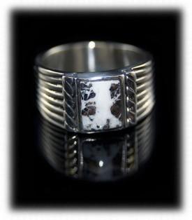 White Turquoise Ring