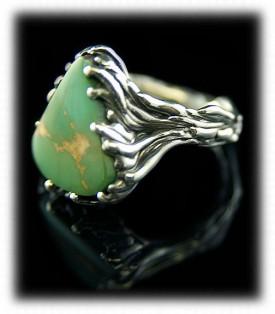 Ring, Ladies Manassa Turquoise Ring