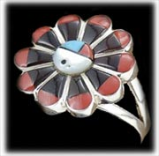 Classic Zuni Inlay Ring for women