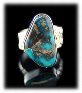 Womens Bisbee Turquoise Ring