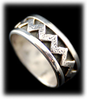 Artisan Crafted Silver Rings and Bands