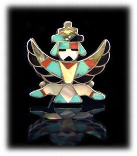 Zuni Silver Jewelry - Needlepoint Bracelet