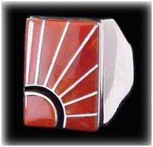 Zuni Inlay jewelry  Ring