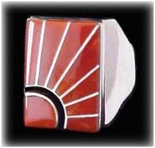 Zuni Inlay jewelry  Ring