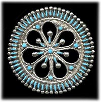 Zuni Needle Point Pin